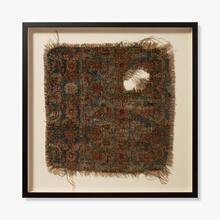 0351760007 Vintage Rug Fragment Wall Art