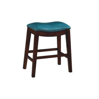 """See Details - Fiesta 24"""" Backless Counter Height Stool in Blue"""