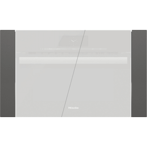 """MieleEBA 6808 - Trim kit for 30"""" niche for installation of a speed oven/steam oven with 24"""" width x 18"""" height"""