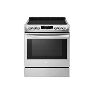 6.3 cu. ft. Smart wi-fi Enabled Induction Slide-in Range with ProBake Convection® and EasyClean® Product Image