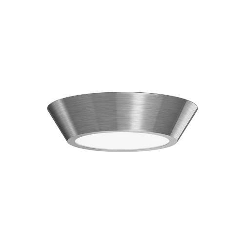 "Sonneman - A Way of Light - Oculus LED Surface Mount [Size=10"", Color/Finish=Satin Nickel]"
