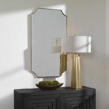 Lennox Brass Mirror