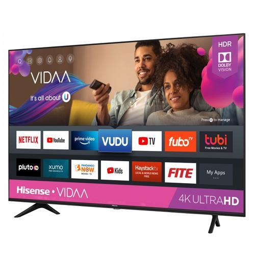 "65"" Class - A60GMV - 4K UHD Hisense Vidaa Smart TV (2020)"