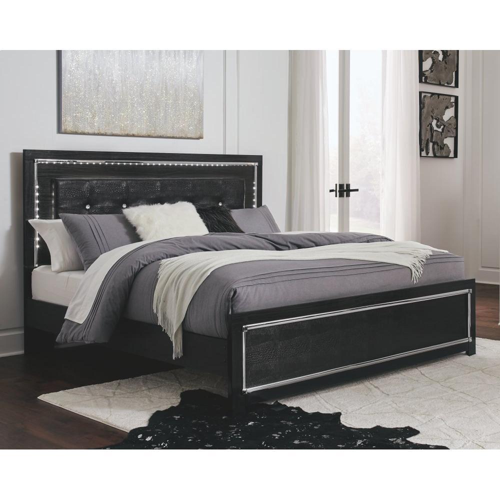 Kaydell King Upholstered Panel Bed