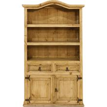 Bookcase w/2 Dr 2/ Door
