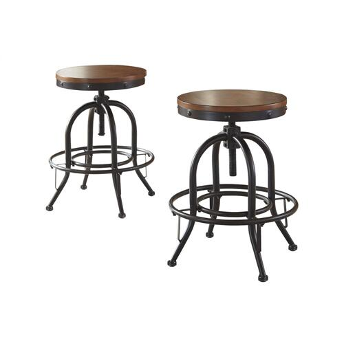 Valebeck Swivel Barstool Multi