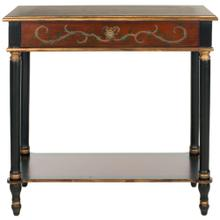 Ronald Console With Storage Drawer - Dark Brown