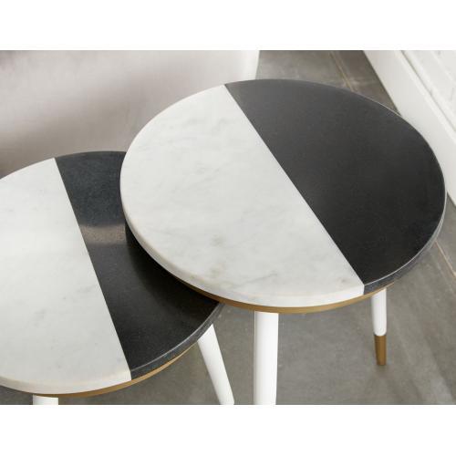 Taj Marble Top Nesting Tables