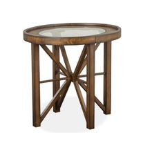 View Product - Oval End Table