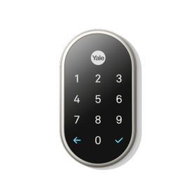 Nest X Yale Lock (Nest Connect Required for Remote Access) Nickel