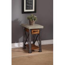 See Details - Steampunk Drawer Side Table         (ZSPK-4400,58239)