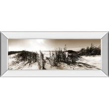 """""""The Wind In The Dunes I"""" By Noah Bay Mirror Framed Print Wall Art"""