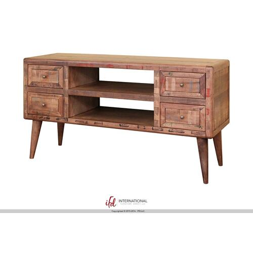 4 Drawer Sofa Table