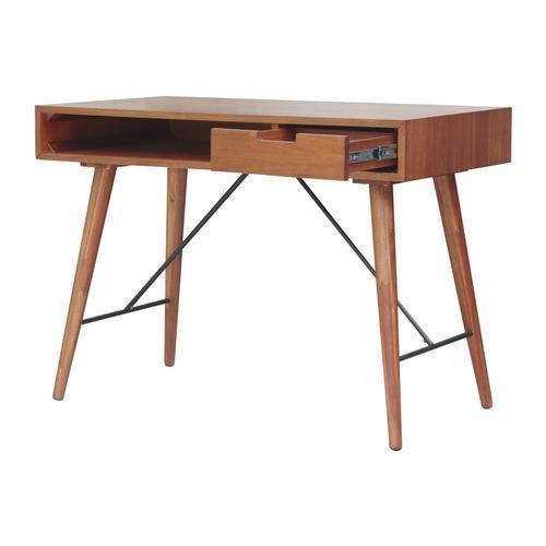 Product Image - Franco Desk 1 Drawer, Monterey Brown