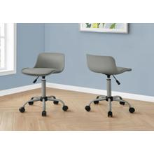 See Details - OFFICE CHAIR - GREY JUVENILE / MULTI-POSITION