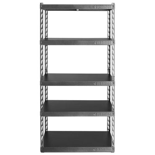 """Gallery - 36"""" Wide EZ Connect Rack with Five 18"""" Deep Shelves"""