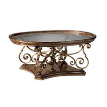 Verona Oval Cocktail Table