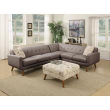 Emerald Home Remix Lsf Sofa W/1 Accent Pillow Charcoal U3789m-11-13 (copy)