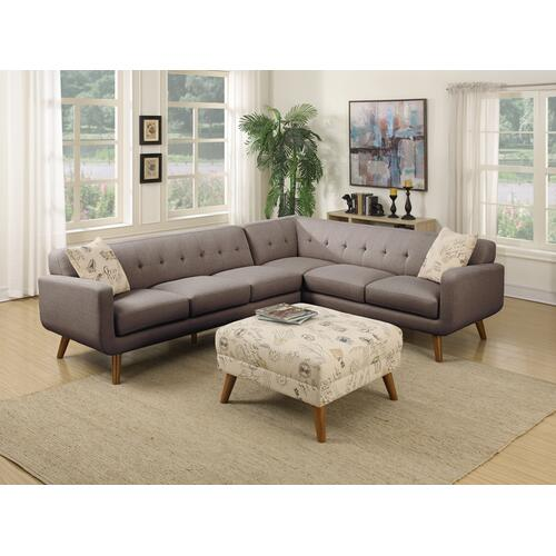 Emerald Home Remix Lsf Sofa W/1 Accent Pillow Charcoal U3789m-11-13 (copy)
