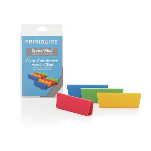 Frigidaire - Frigidaire SpaceWise® Color-Coordinated Handle Clips