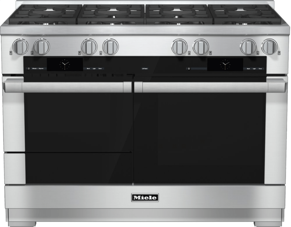 MieleHr 1954-2 G - 48 Inch Range Dual Fuel With M Touch Controls, Moisture Plus And M Pro Dual Stacked Burners