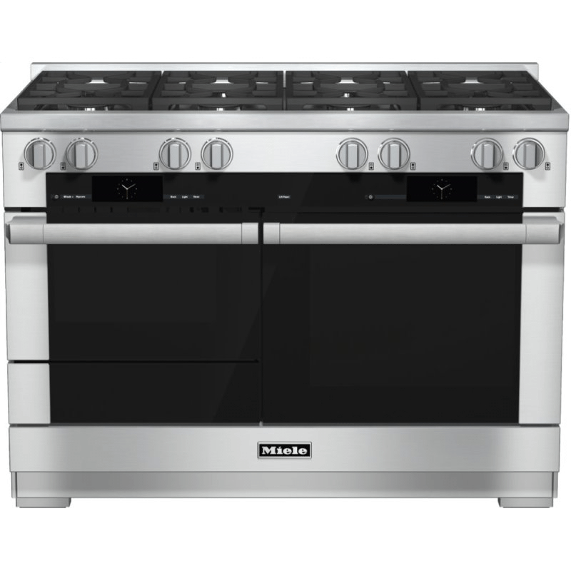 HR 1954-2 G - 48 inch range Dual Fuel with M Touch controls, Moisture Plus and M Pro dual stacked burners