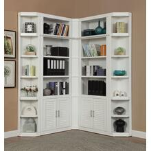 CATALINA 5 Piece Corner Library Wall