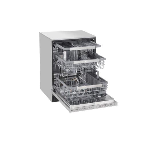 LG STUDIO Top Control Smart wi-fi Enabled Dishwasher with QuadWash™