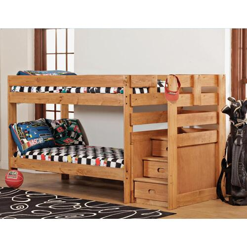 Gallery - Twin/Twin Complete - Stairstep Bunkbed