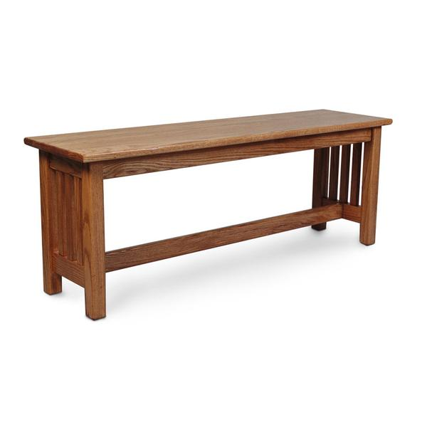 """Mission Bench, Mission Bench, 36""""w"""