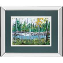 """Extounge Rapids"" By G. Forsythe Mirror Framed Print Wall Art"