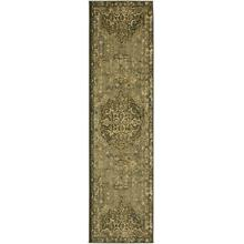 Floret Ivory Rectangle 2ft 1in X 7ft 10in