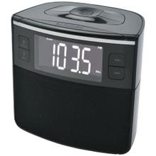 Bluetooth® Clock Radio with Auto-Set Dual Alarm Clock & USB Charging