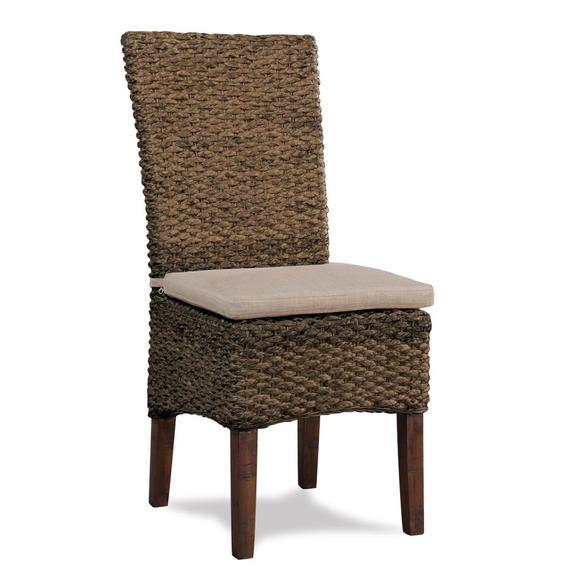 Riverside - Mix-n-match Chairs - Woven Side Chair - Hazelnut Finish