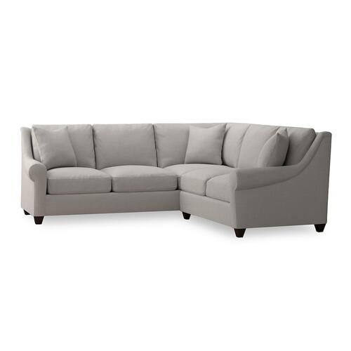 Bassett Furniture - Ellery Small L-Shaped Sectional