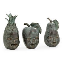 See Details - Dark Bronze Fruit & Children'S Faces