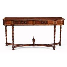 Mahogany TV base or sideboard
