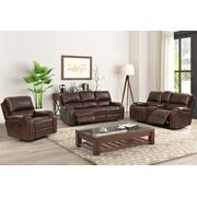 GLIDER CONSOLE LOVESEAT W/ DUAL RECLINERS Product Image