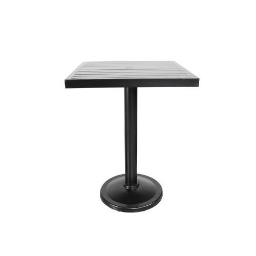 "Monaco 32"" Square Pedestal Bar Table"