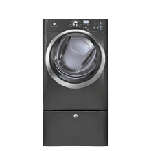 See Details - Front Load Electric Dryer with IQ-Touch Controls featuring Perfect Steam - 8.0 Cu. Ft.