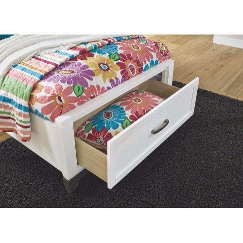 Brynburg Twin Storage Footboard