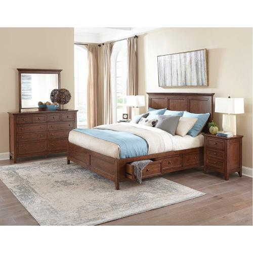 San Mateo King Storage Bed