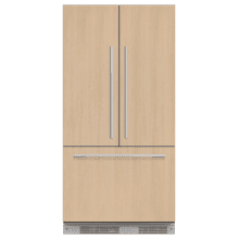 """Product Image - Integrated French Door Refrigerator Freezer, 36"""", Ice"""
