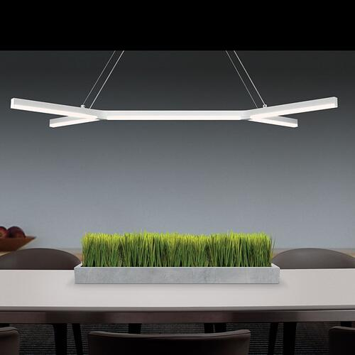 Sonneman - A Way of Light - Bi-Y LED Pendant [Color/Finish=Satin Black]