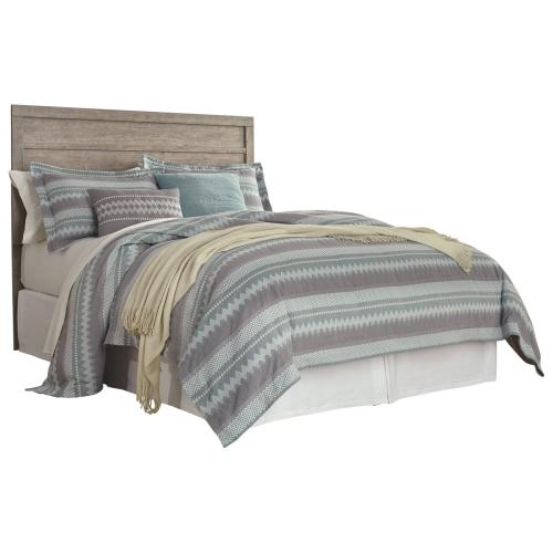 B070 3PC Set: Queen/Full Panel Headboard & 2 Nightstands (Culverbach)