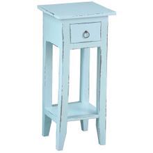 Cottage Side Table - Sky Blue