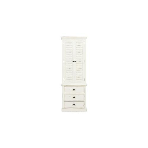 Cottage Tall Shutter Cabinet