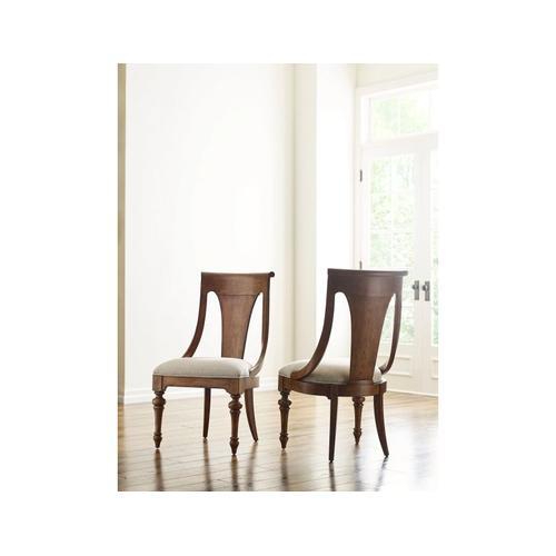 American Drew - Sling Back Side Chair