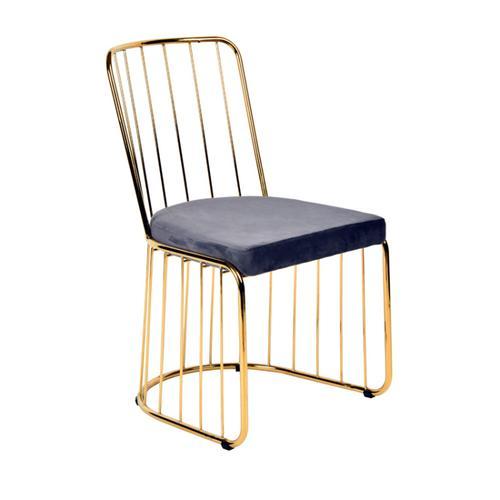 Modrest Holly Modern Grey Fabric Dining Chair (Set of 2)