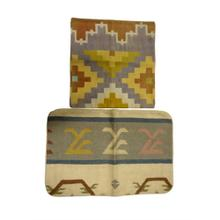 India, Old Dhurrie Pillow (Lg) Case